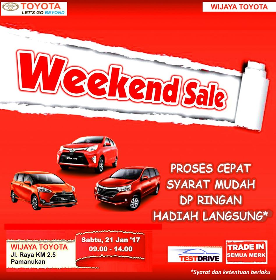 weekend sale kijang innova Venturer