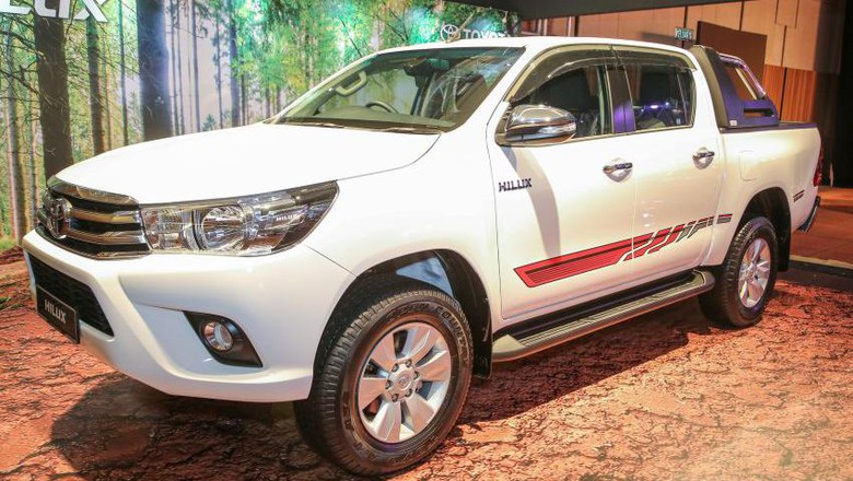 Toyota Malaysia Luncurkan Hilux Edisi Khusus