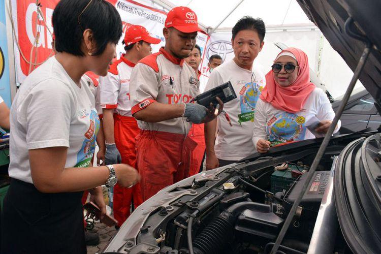 298 Titik Servis Siap, Toyota Jamin Ketenangan Mudik