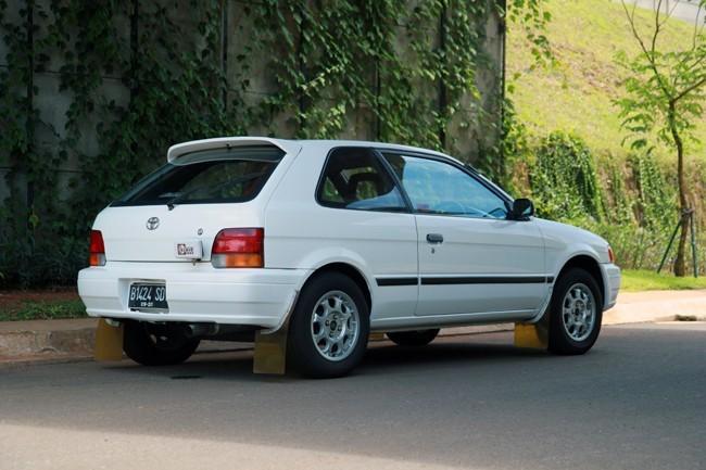 Modifikasi Toyota Corolla ala Rally Style dan Ganti Mesin