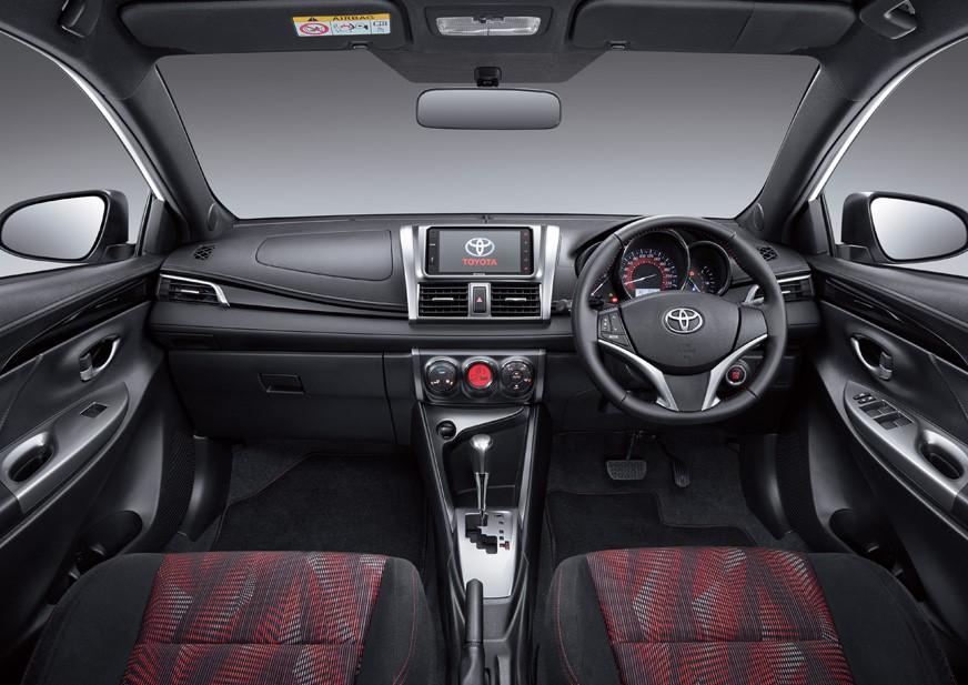Fitur - Fitur Unggulan Pada Toyota Yaris Heykers