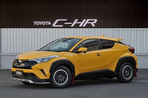 Kena Poles TRD, Toyota C-HR Tampil Lebih Ekstrem dan Agresif