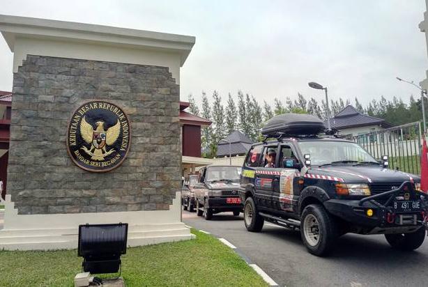 Toyota Owner Club Peringati Kemerdekaan RI di Bandar Sri Begawan