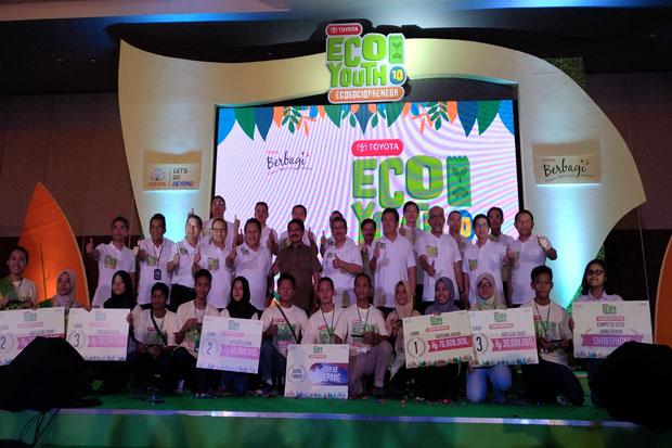 TMMI Umumkan Pemenang Toyota Eco Youth Ke-10